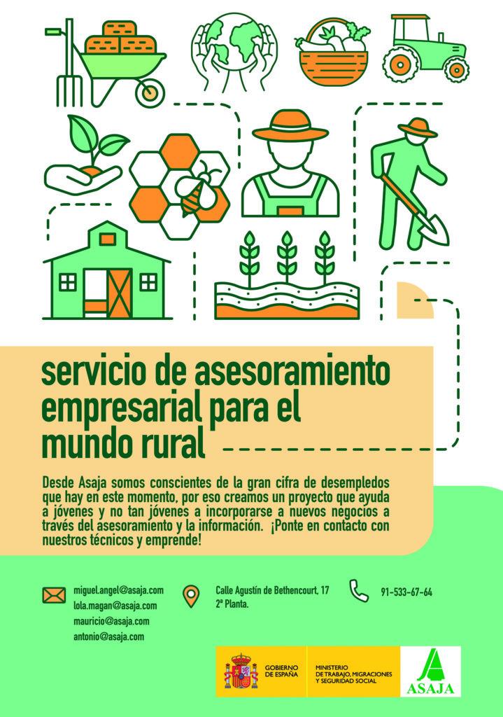 Servicio de asesoramiento empresarial para el mundo rural
