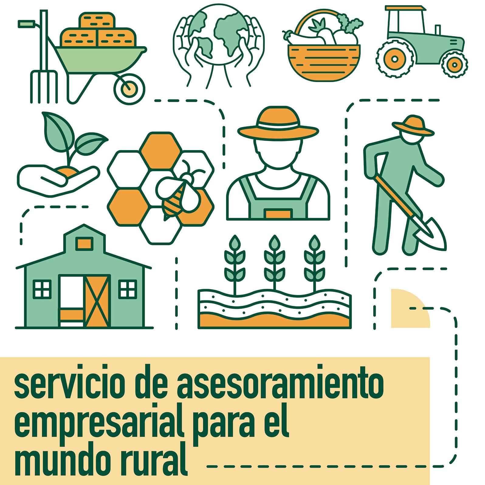 Servicio de asesoramiento empresarial en el mundo rural