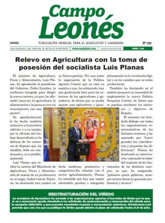 Campo Leonés junio de 2018
