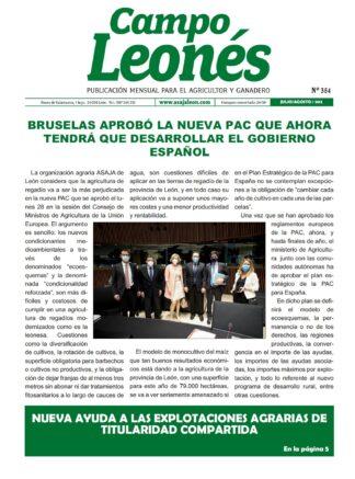 Campo Leonés julio-agosto 2021