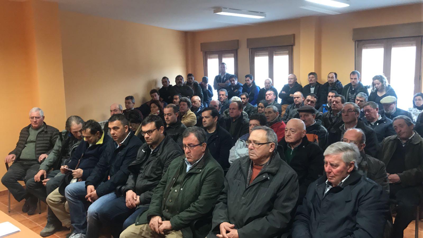 Asamblea comarcal de Asaja en Astudillo