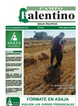 Campo Palentino julio-agosto 2020