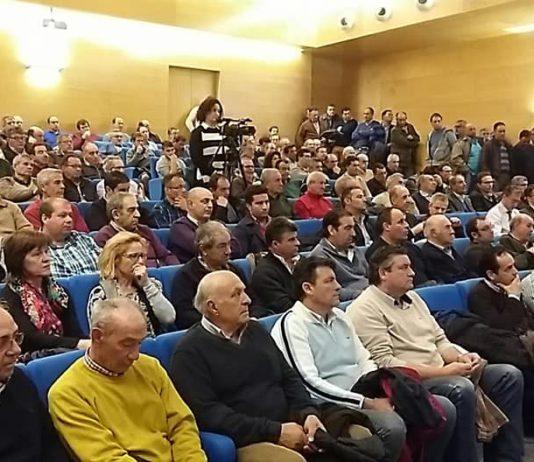 Público asistente a la jornada de regadío. Foto: ASAJA Salamanca