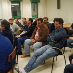 Una imagen de la reunión mantenida en ASAJA Salamanca. FOTO: ASAJA Salamanca