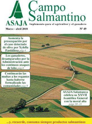 Campo Salmantino marzo – abril 2018