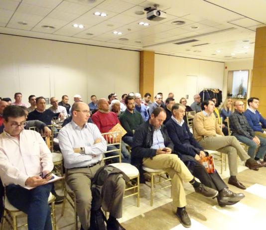 Unas cincuenta personas asistieron a las IX Jornadas Apícolas. REP FOT: VGA ASAJA Salamanca.