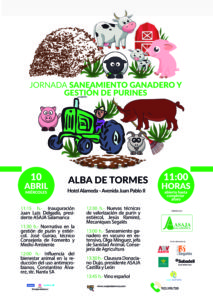 Jornada de Saneamiento y gestión de estiércol y purines @ Hotel Alameda