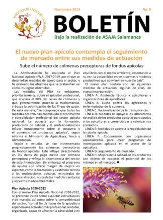 Boletín apícola noviembre 2019