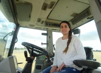 Una joven agricultora salmantina. FOTO: VGA