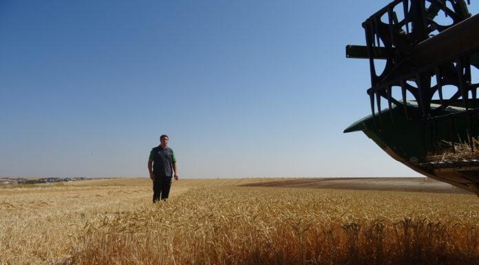 Joven agricultor salmantino. FOTO: Verónica G. Arroyo