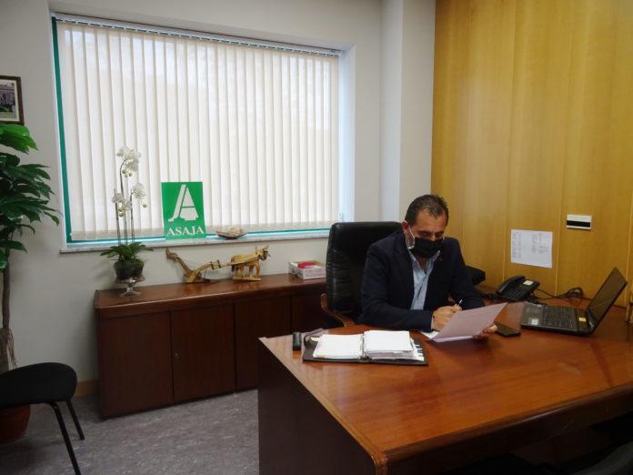 Juan Luis Delgado, presidente de ASAJA Salamanca. FOTO: Verónica González Arroyo