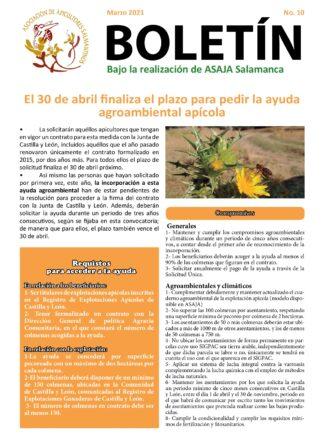 Boletín apícola marzo 2021