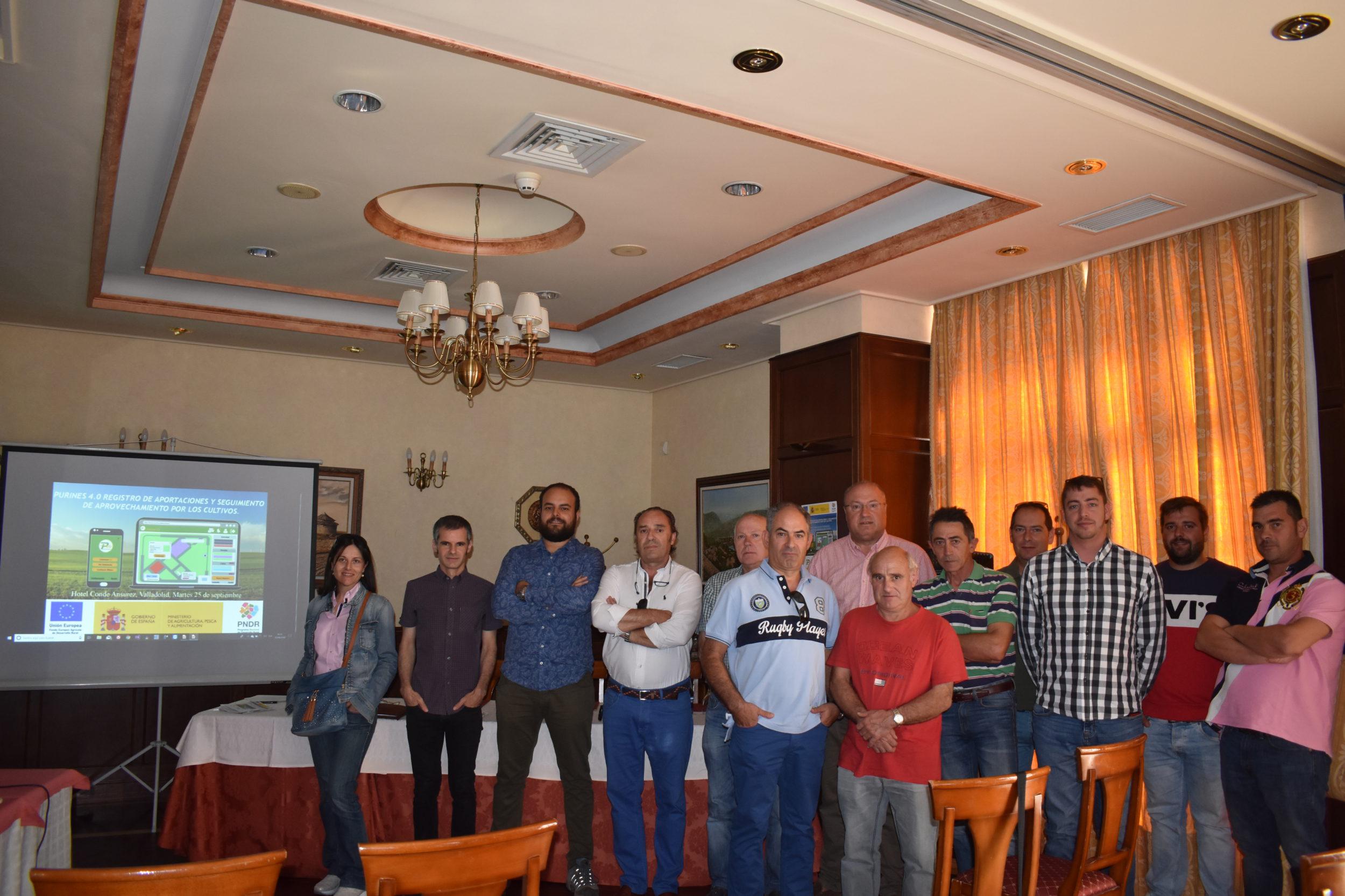ASAJA Valladolid presenta el Grupo Operativo Purines 4.0