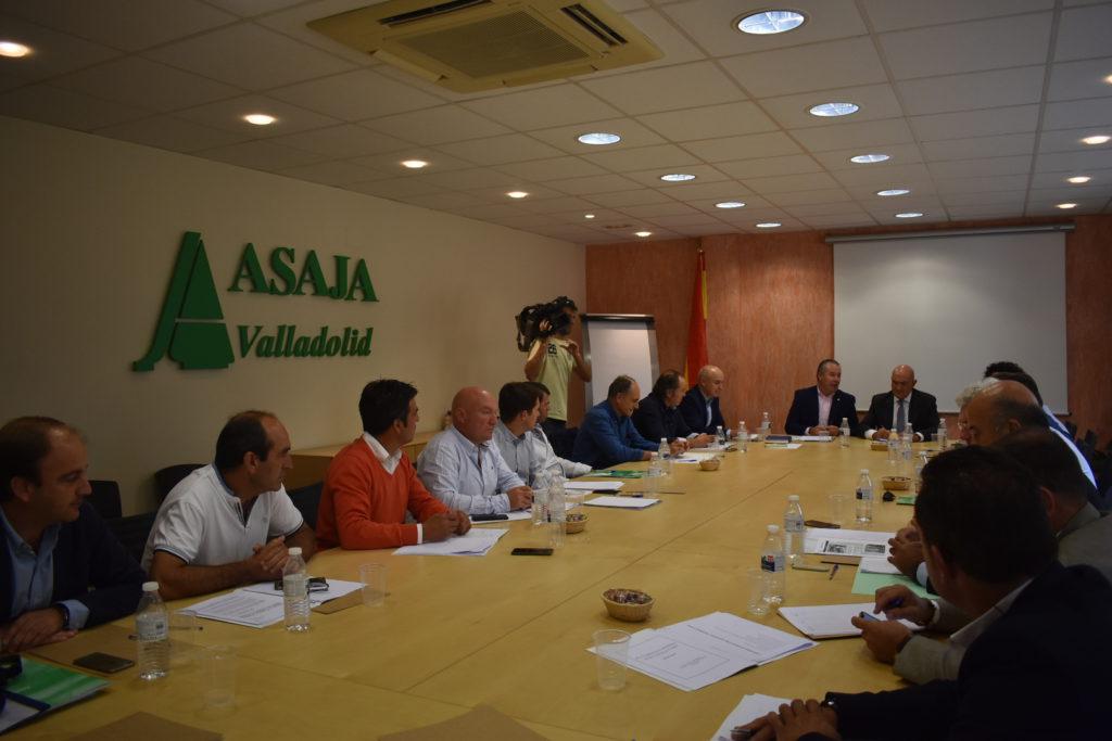 la Junta Directiva de ASAJA de Castilla y León,