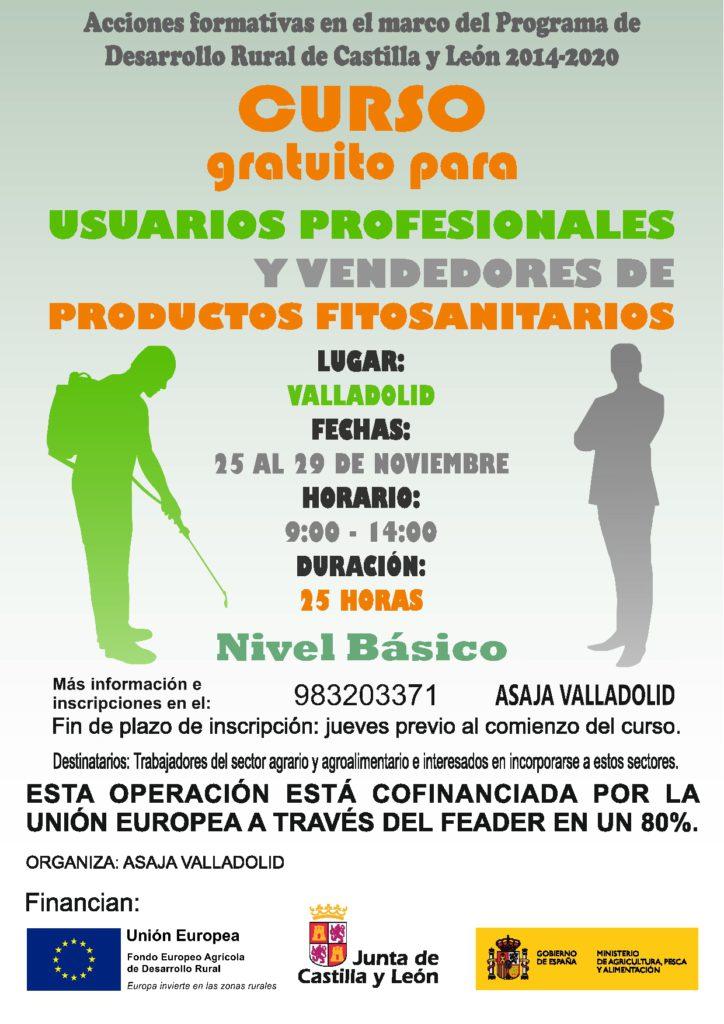 Curso gratuito para usuarios profesionales y vendedores de productos fitosanitarios