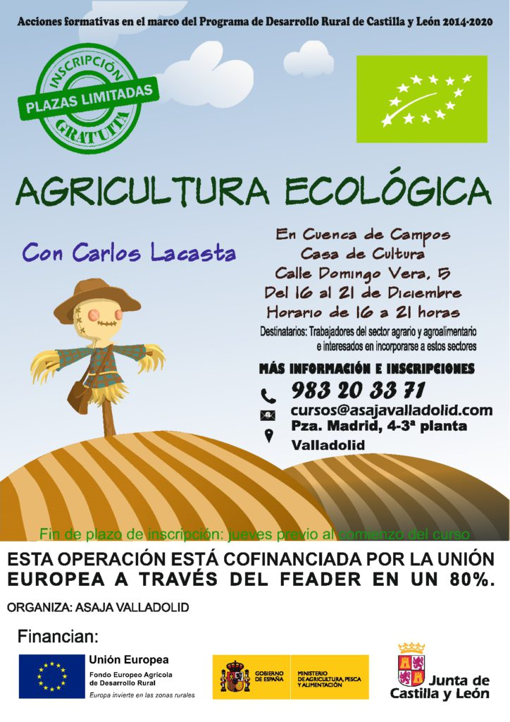 Curso Agricultura Ecológica con Carlos Lacasta