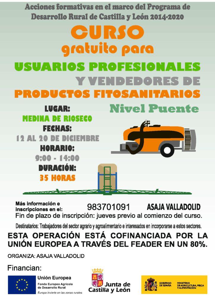 Curso Nivel Puente gratuito para usuarios profesionales y vendedores de productos fitosanitarios