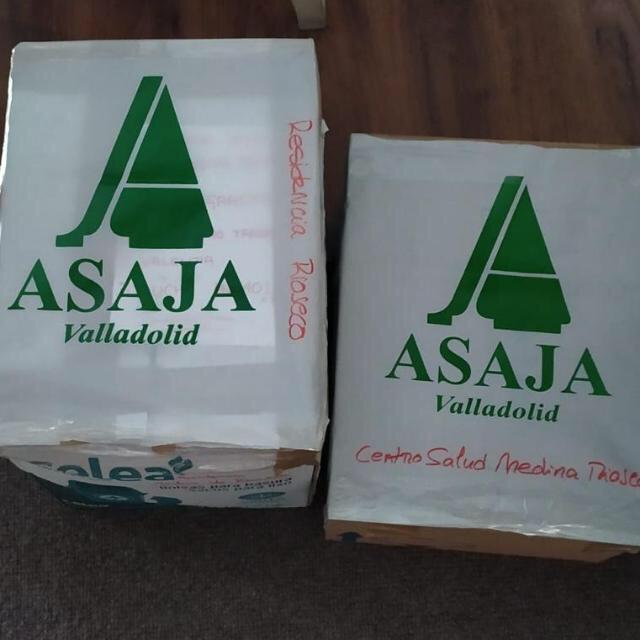 El material santario de los socios de ASAJA Valladolid también llega Alicante