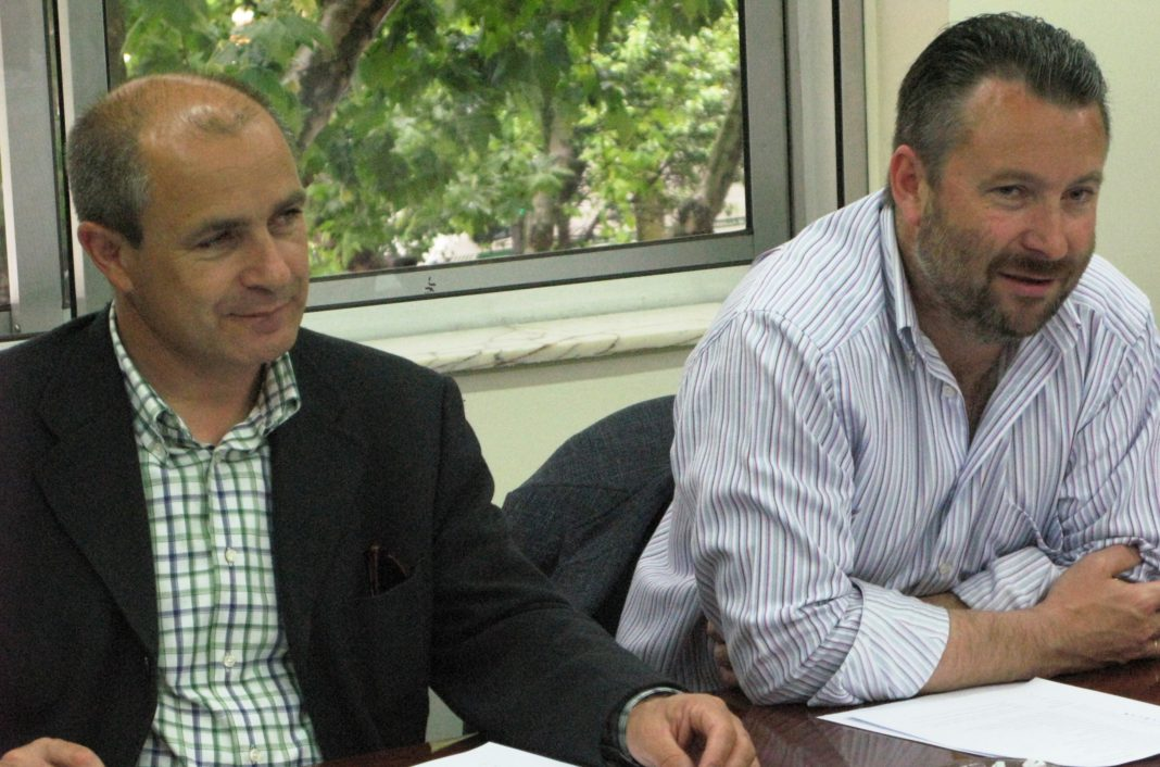 Donaciano Dujo y José Antonio Turrado