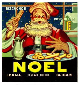 Los bizcochos preferidos de Santa Claus