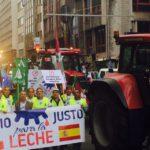 ASAJA de Castilla y León lleva hasta Bruselas la defensa de los ganaderos de leche