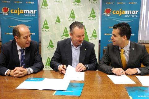 Acuerdo de ASAJA Castilla y León y Cajamar Caja Rural para canalizar las ayudas de la PAC en la comunidad autónoma