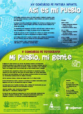 ASAJA invita a niños y jóvenes a mostrar cómo ven el campo y los pueblos en el concurso de pintura y fotografía  patrocinado por Cajamar