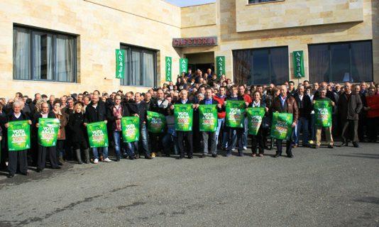 ASAJA hace un llamamiento al voto en la última jornada de la campaña electoral agraria
