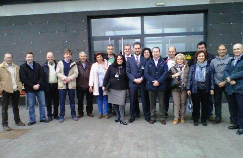 ASAJA visita las instalaciones de MERCADONA en Villadangos del Páramo (León)