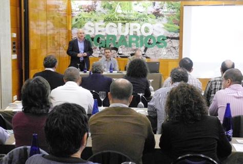 Reunión de responsables de los departamentos de seguros de ASAJA en Castilla y León para conocer las novedades de la campaña de contratación